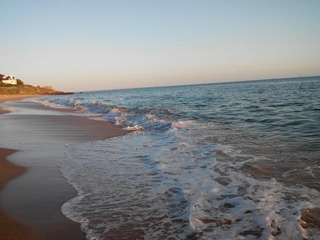 mer, plage, Pornichet, bullelodie