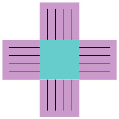 великденска кошничка - шаблон