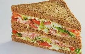 Cómo preparar Sandwich de Atún y Manzana