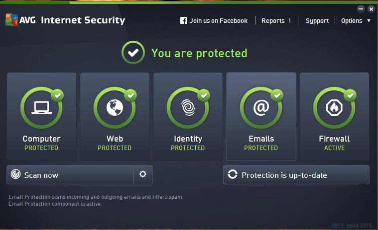 serial para avg internet security 2016