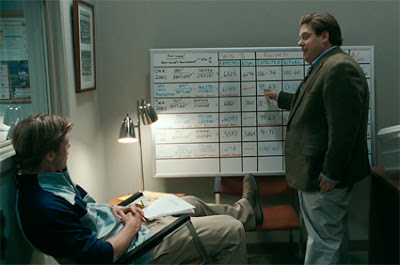 Jonah Hill stars in Moneyball, movie, with brad pitt, funny guy