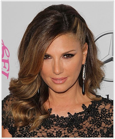 Daisy Fuentes vintage hairstyle