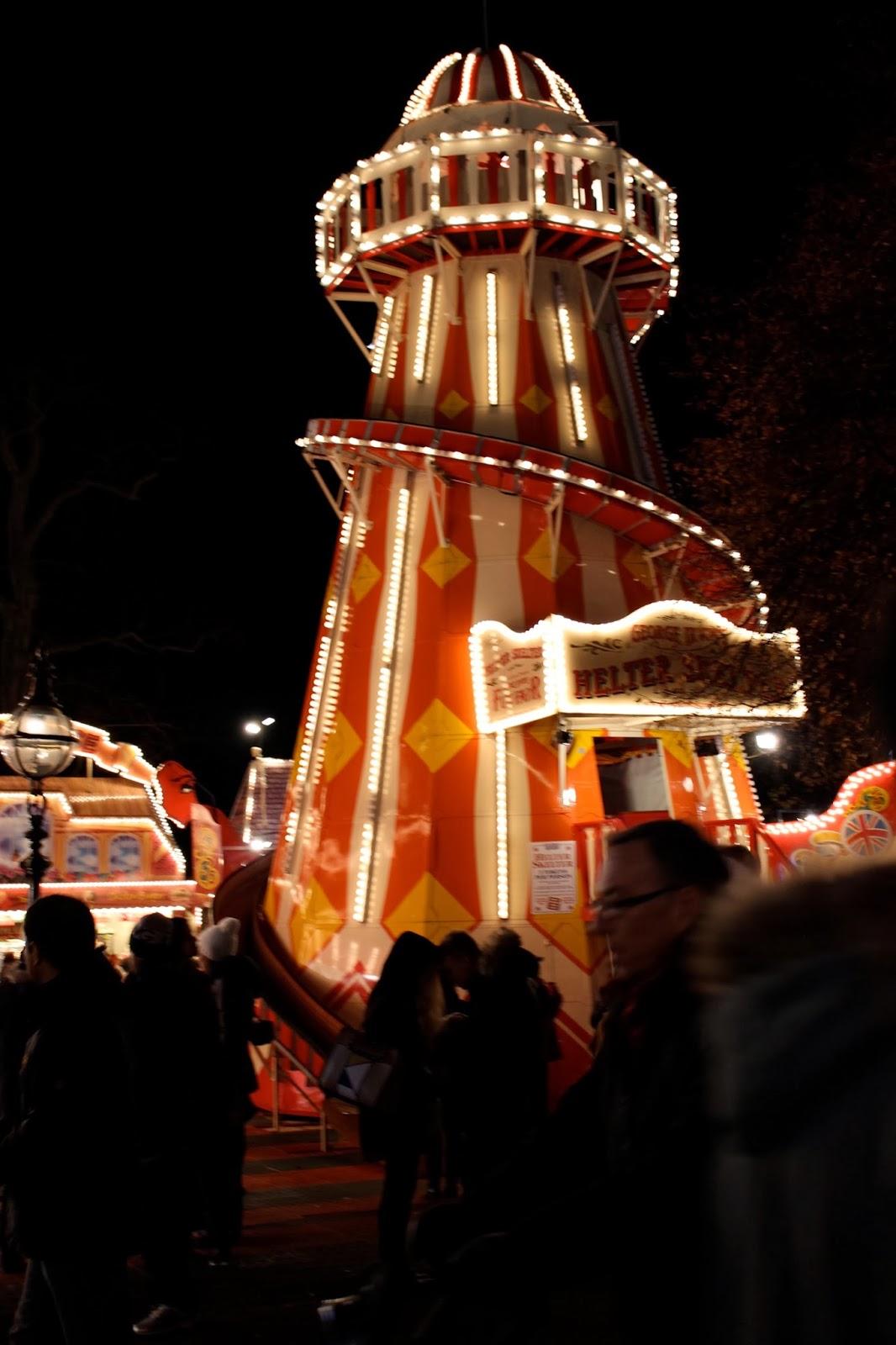 viaje londres, puente, diciembre, navidad