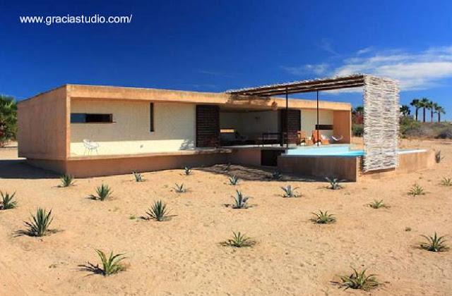 Casa tipo cabaña contemporánea en México