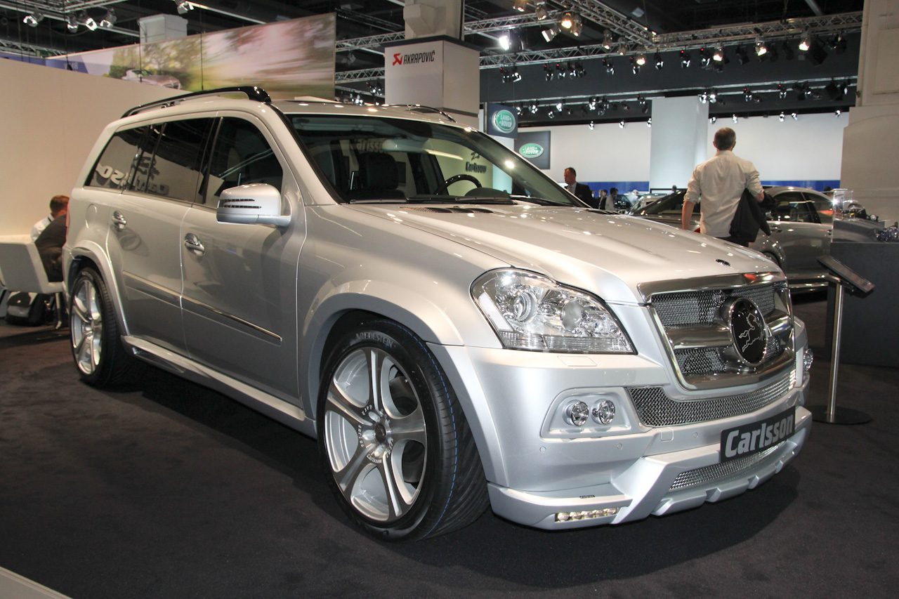 mercedes benz gl grand edition by carlsson live pics frankfurt motor show 2011 car. Black Bedroom Furniture Sets. Home Design Ideas