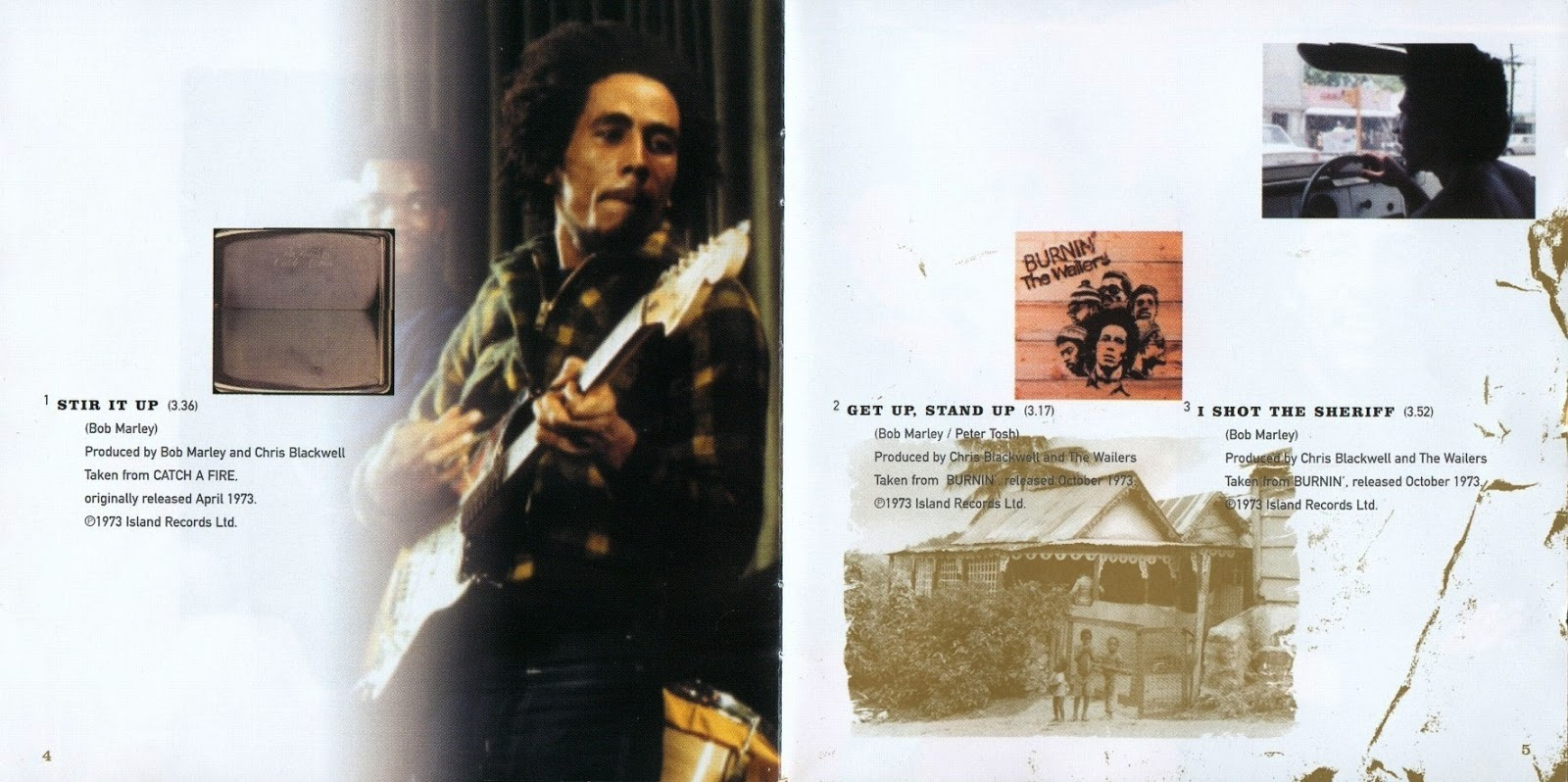 Mundo Dos Encartes World Of Booklets Bob Marley