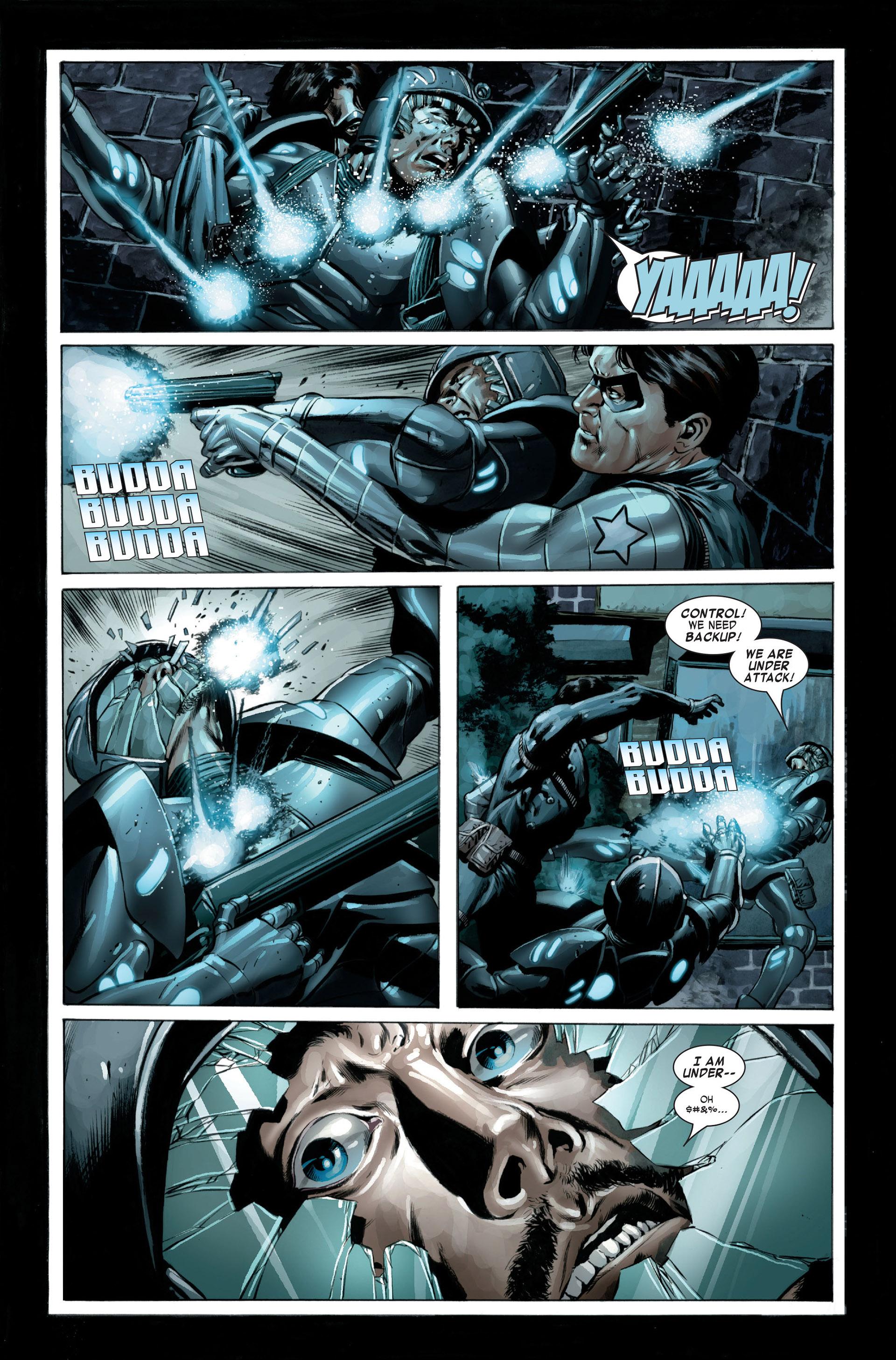 Captain America (2005) Issue #23 #23 - English 19