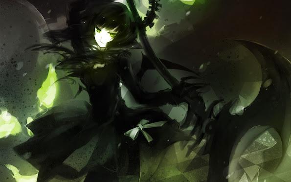 dead master anime girl scythe hd wallpaper