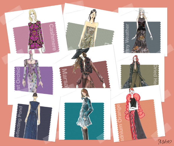 tendencias moda otono invierno 2015 2016 colores
