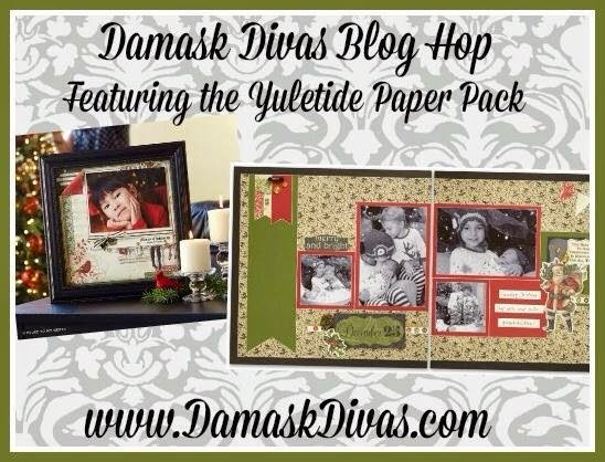 Damask Divas Yuletide Blog Hop