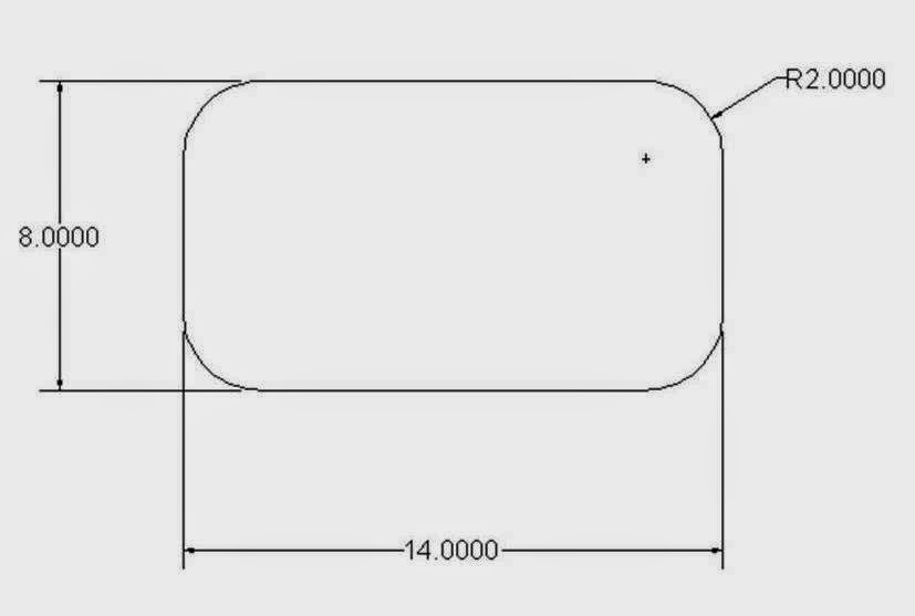 AUTOCAD TUTORIAL: Chapter 2 Introduction Of 2D Drawing Tool >Rectangle Tool
