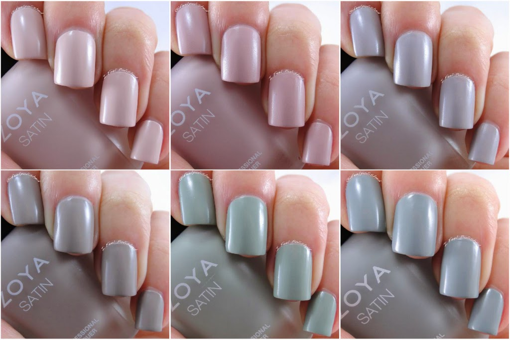 Zoya Naturel Satin Collection