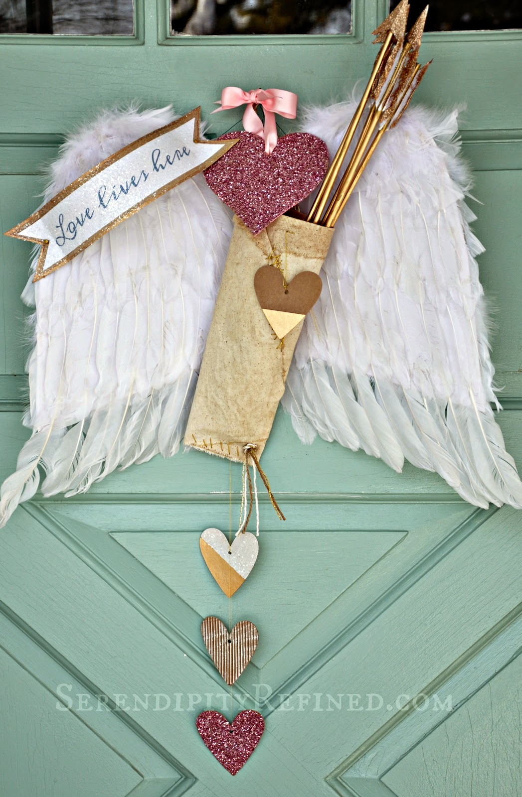 Serendipity Refined Blog Valentine S Day Door Decoration