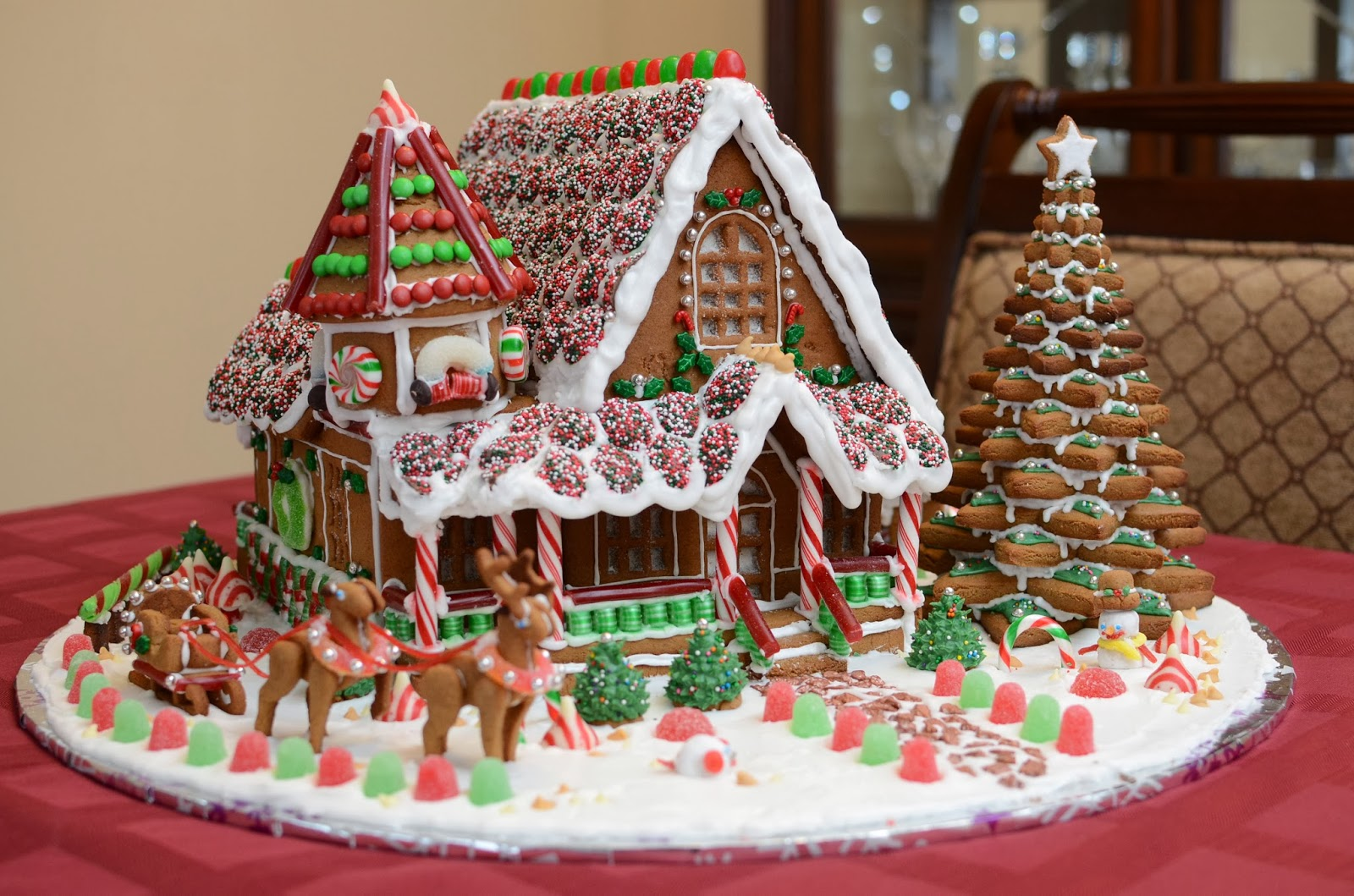 Gastronomic relevancy gingerbread house but a gingerbread house isnt exactly part of the traditional chinese culture and so its taken me a full 17 years to realize the dream hahaha malvernweather Choice Image