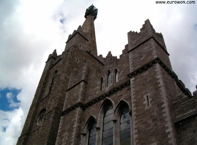 Torres de la Catedral de San Patricio en Dublín