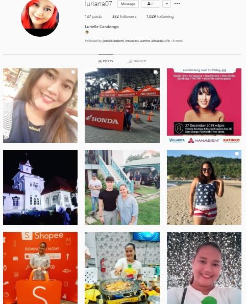 Instagram Account - luriana07