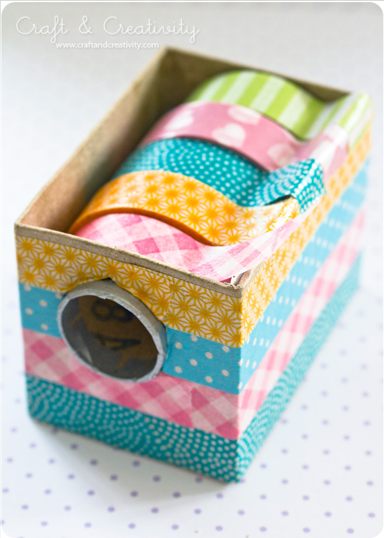 We read 30 washi tape ideas round up for Crafts with washi tape