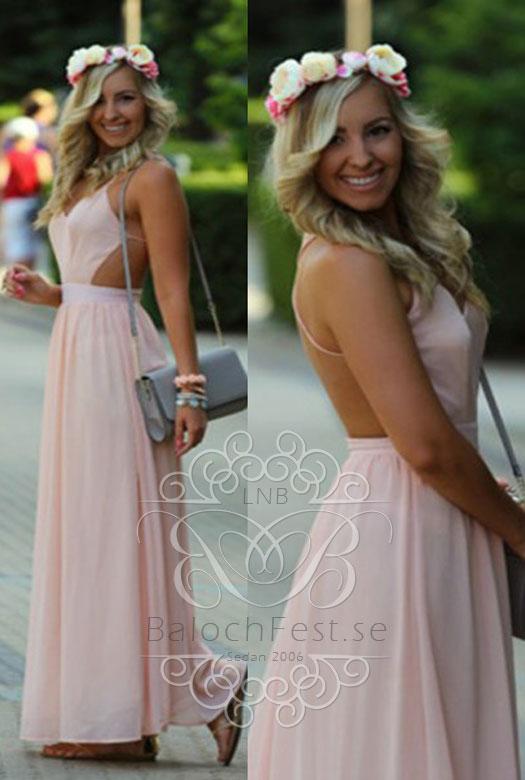 e438ac115322 Balklänningar med öppen rygg och spetsdetaljer - Pastellfärger ...