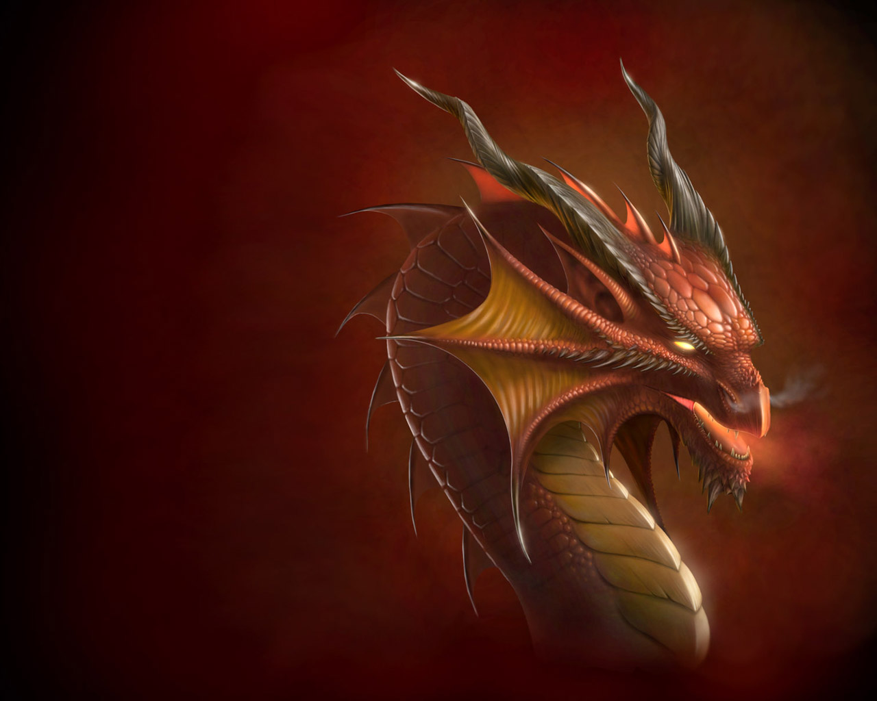GallianMachi 3D Fantasy Dragon Wallpapers