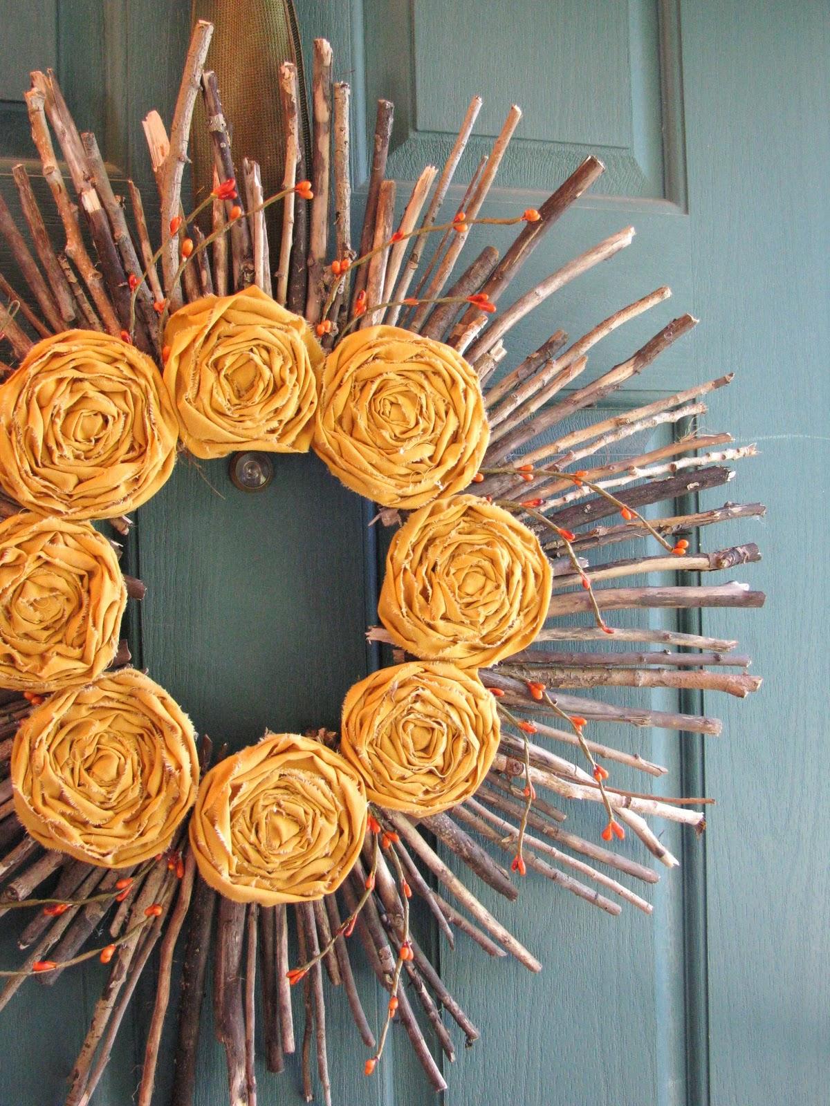 Fabryka kwiat w witaj szko o back to school craft for Herbstschmuck basteln