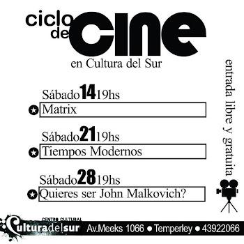 Ciclo de Cine | Entrada Libre y Gratuita