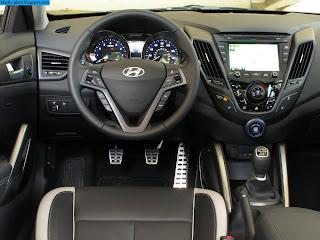 Hyundai veloster car 2013 dashboard - صور تابلوه سيارة هيونداى فيلوستر 2013