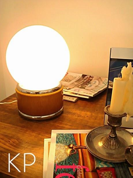 Lámparas vintage online valencia. Lámparas de dormitorio retro bonitas y originales
