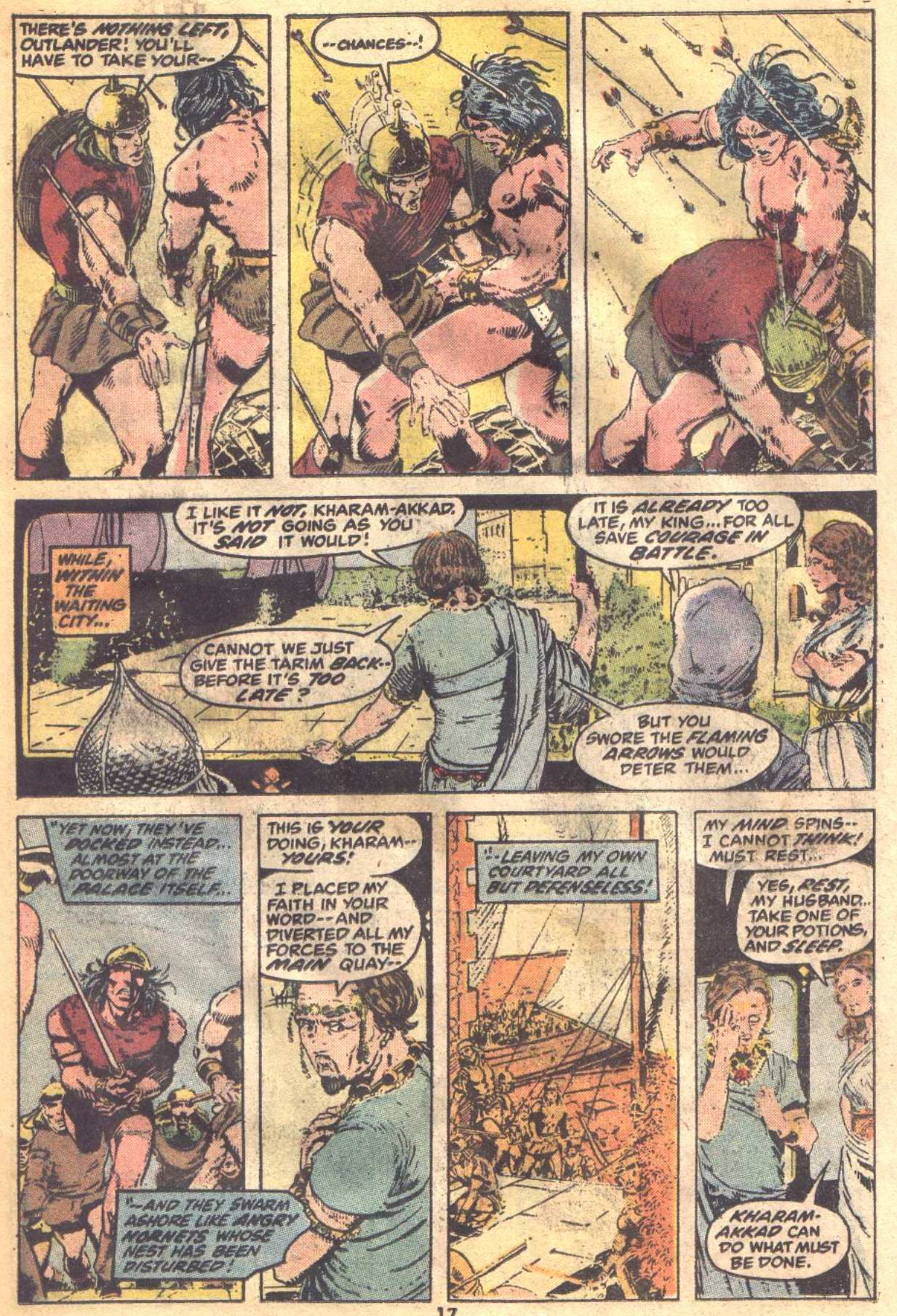 Conan the Barbarian (1970) Issue #19 #31 - English 13