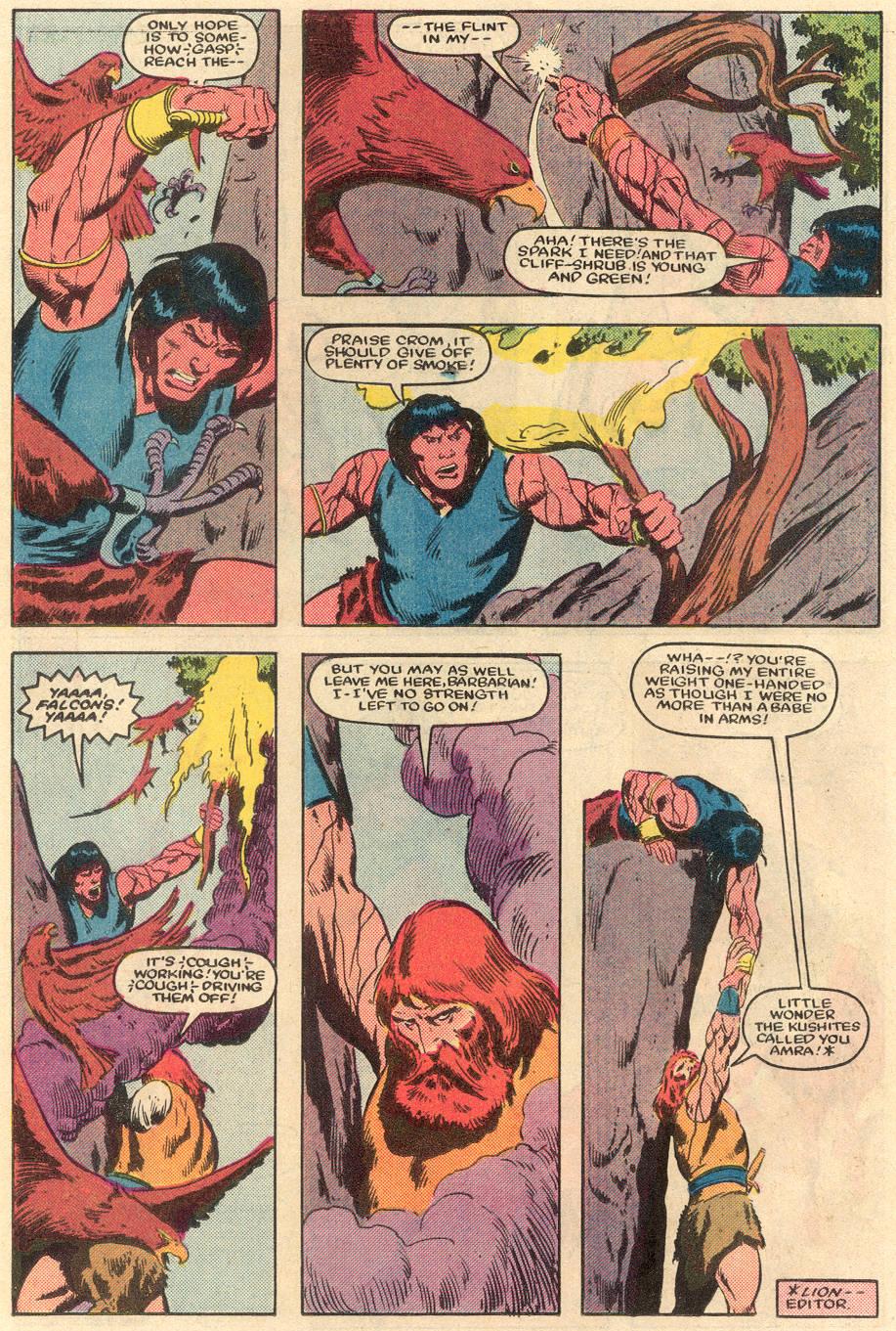 Conan the Barbarian (1970) Issue #162 #174 - English 17