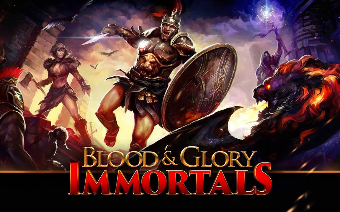 BLOOD & GLORY: IMMORTALS Gameplay IOS / Android