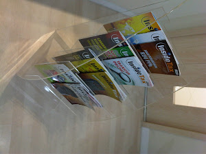 Display majalah