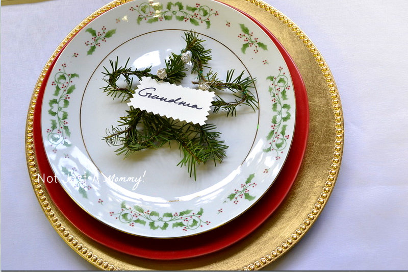 Arboretum Foundation Gifts And Green Galore place setting