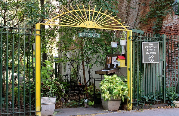"The Creative Little Garden – ""hemlig"" trädgård i East Village"