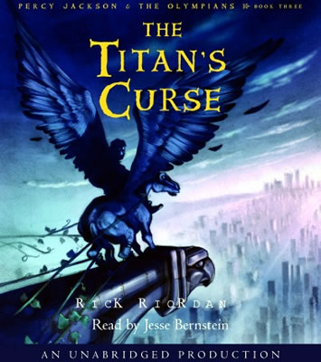 the titans curse book report Rick riordan gives the greek gods a fantastic makeover in percy jackson and the titan's curse, says philip ardagh.