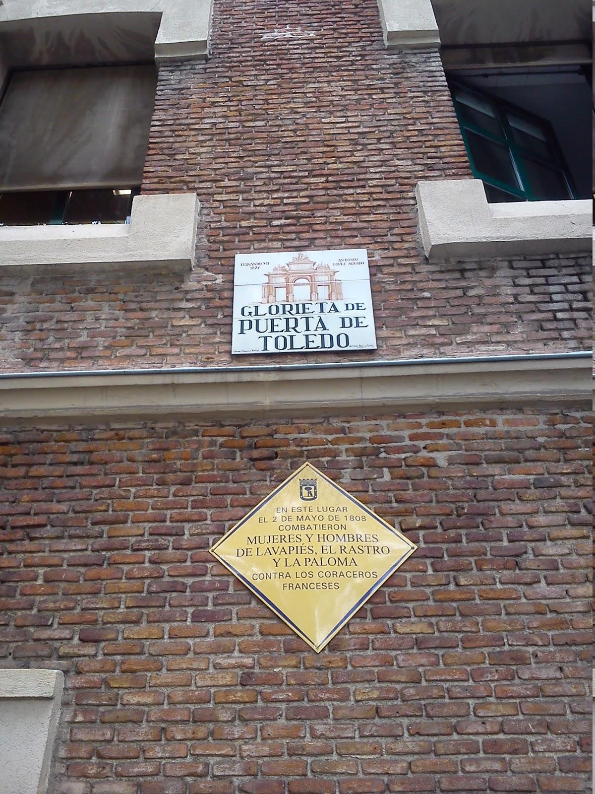 Por la calle de alcal mercado puerta de toledo madrid for Puerta 7 campo de mayo
