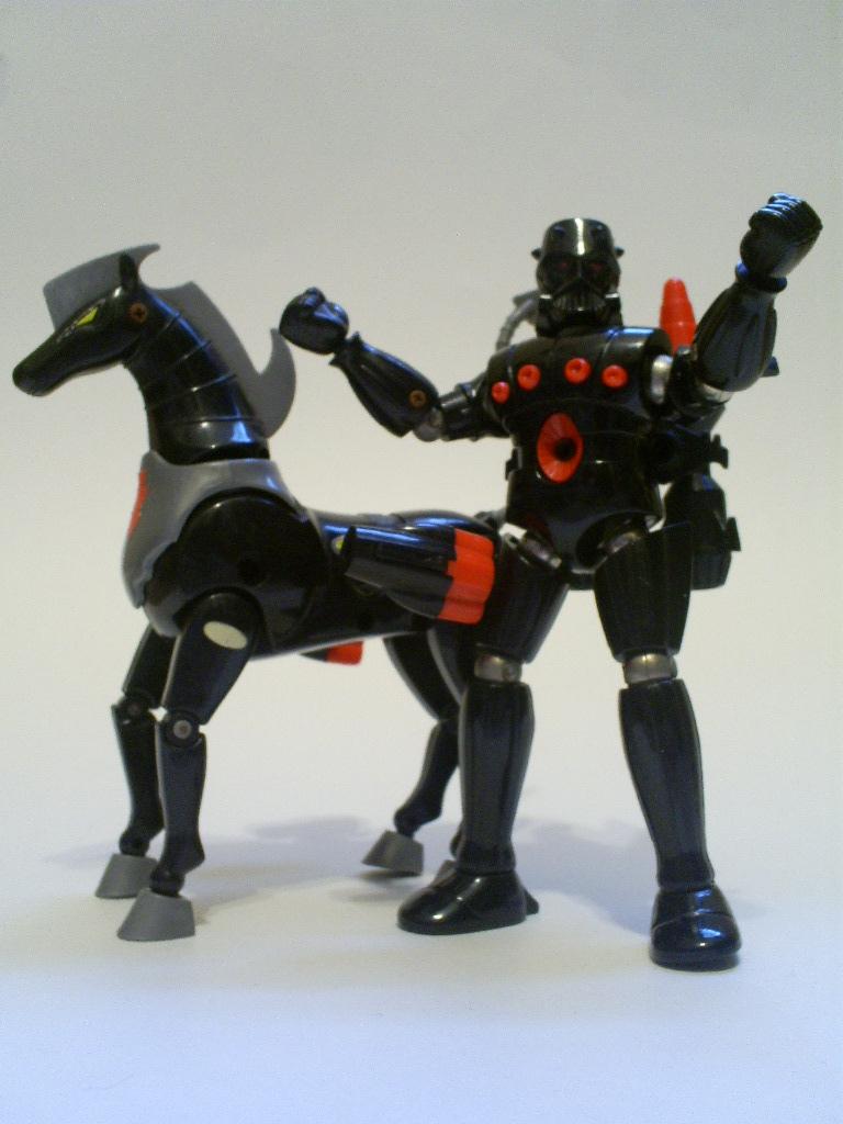 2002 Palisades Micronauts TIME TRAVELER Red MOC