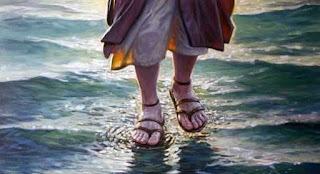 Caminar sobre el agua