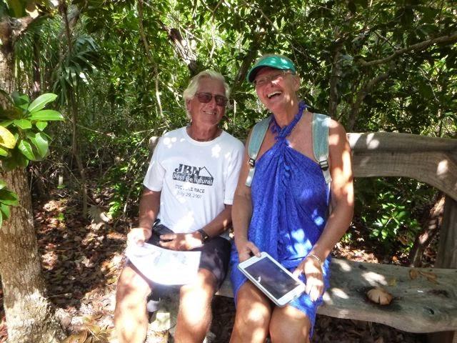hiking, bahamas plants, cruising life, cruising activities, cruisers