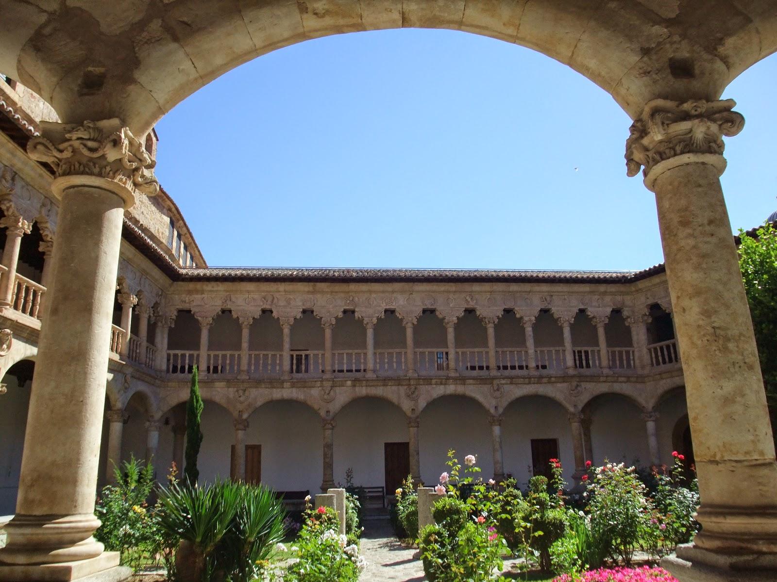 Buscando Montsalvatge: SALAMANCA. Convento dominico de Las ...