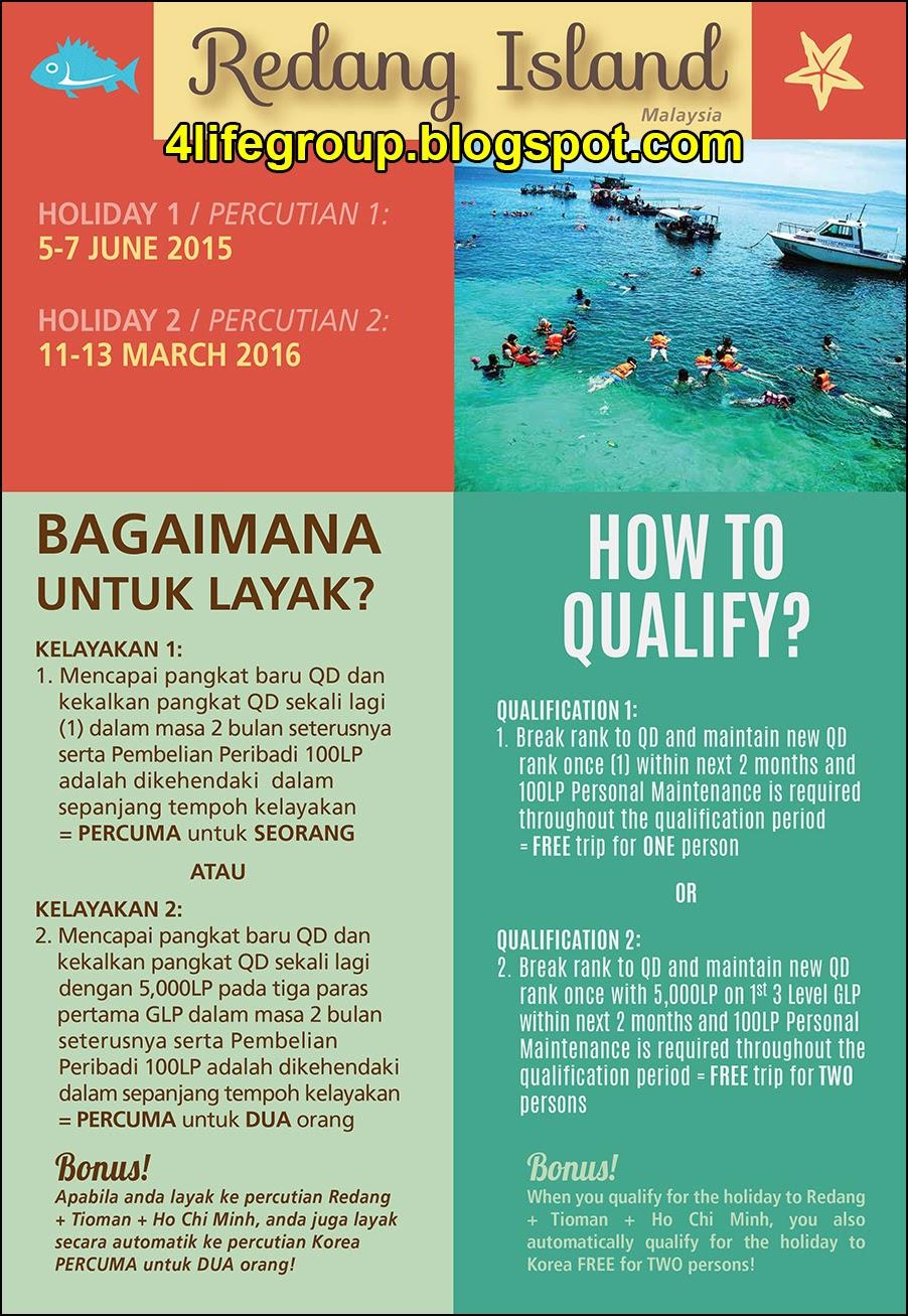 foto 4Life 2015 Big Holiday Incentives (Redang Island, Malaysia)