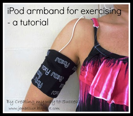 iPod armband for exercising