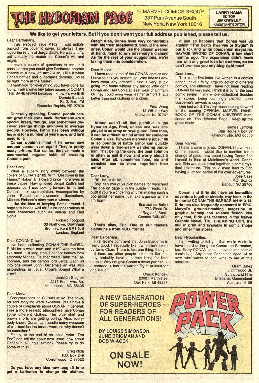 Conan the Barbarian (1970) Issue #165 #177 - English 25