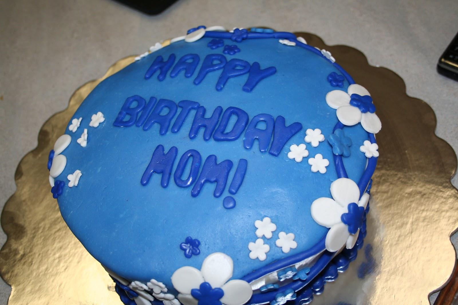 Images Of Blue Birthday Cake : Pink Frosting Bakery: Blue birthday cake