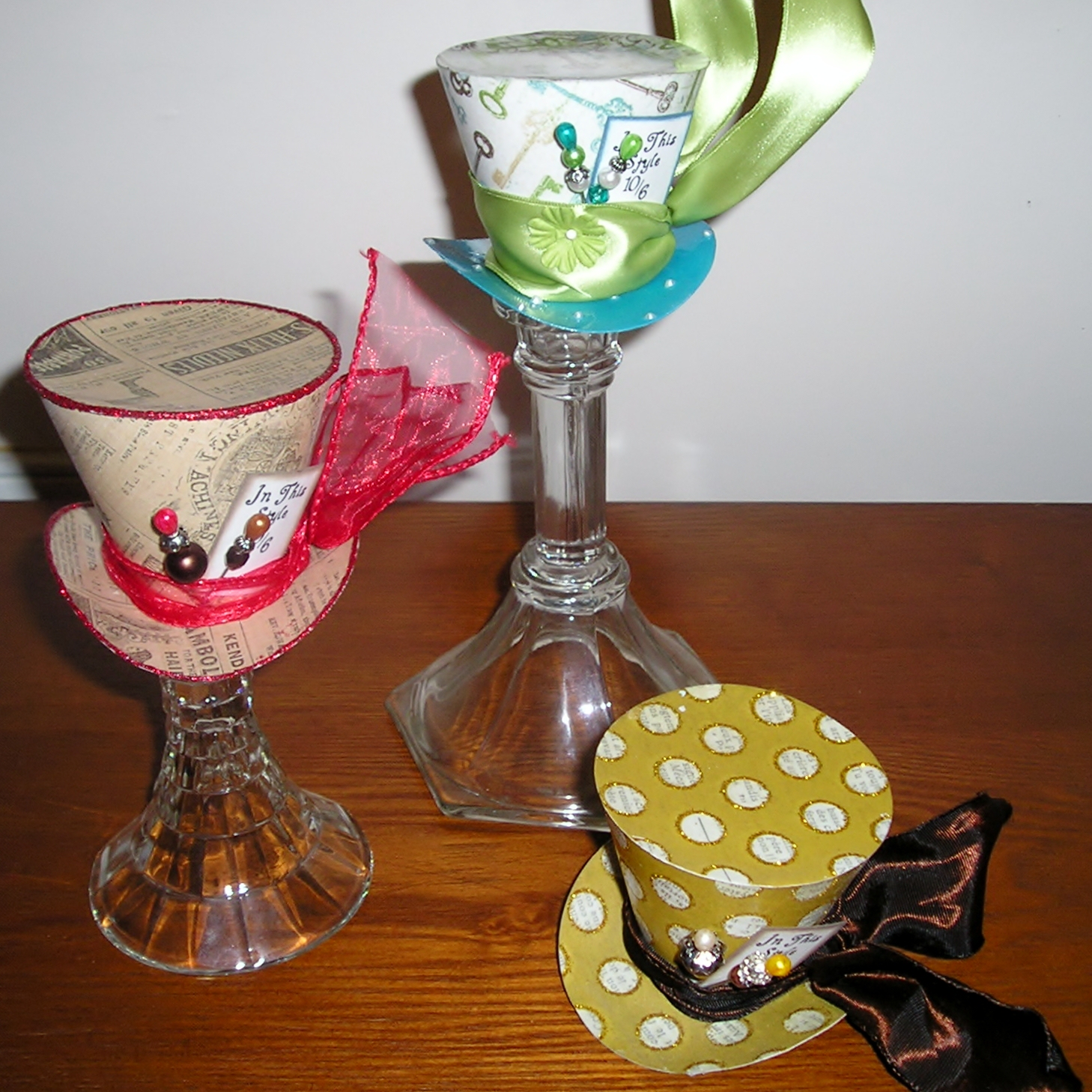 Cissys Creations Of Love The Mad Hatter Hats