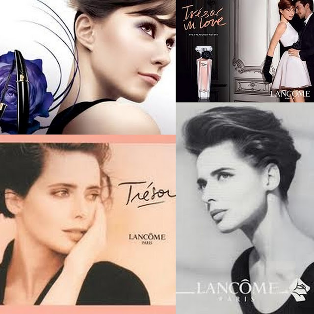 Isabella and her daughter Elettra modeling for Lancome