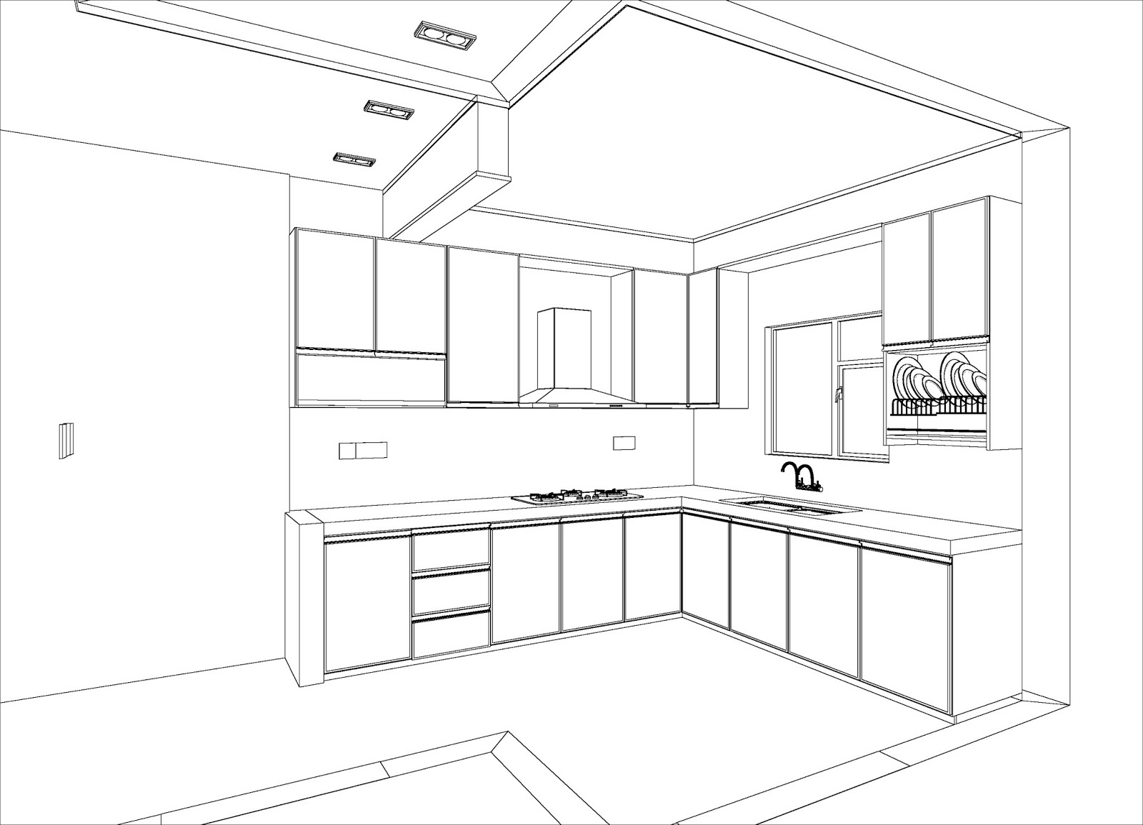 Tips nak buat dapur mymerbok my stories for Bikin kitchen set sendiri