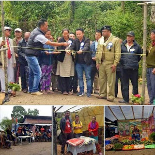 Wednesday haat started in Mirik Hanuman Nagar compound