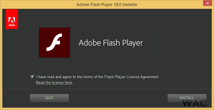 Windows Admin Center: Adobe Flash Player 18.0.0.232 is now ...
