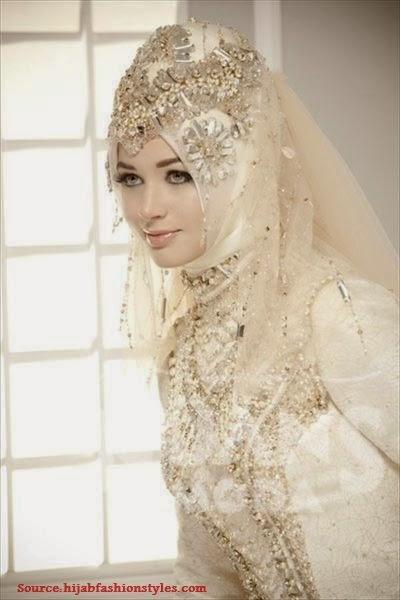 hijab mariée voile pour hijab mariée 2014 robe mariée hijab