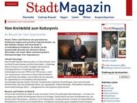 StadtMagazin: Vom Kreidebild zum Kulturpreis